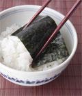 White rice with Nori