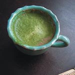 Hot Chocolate au Matcha