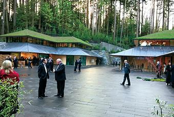 portland japanese garden is serving jugetsudo premium green tea at their cafe
