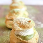 matcha cream puffs