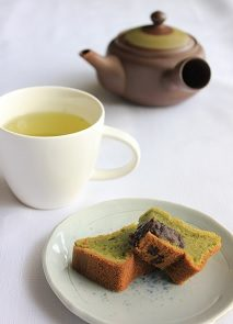 Matcha mochiko cake is a great fit for gluten intolerant folks