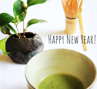 Let's celebrate new year with Jugetsudo matcha!
