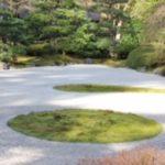 sand garden at Portland Japanese Garden