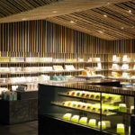 Kabuki-za Tea Shop designed by Kengo Kuma