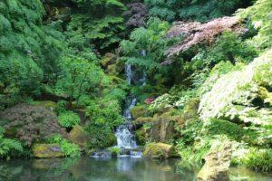 Waterfalls at Portland Japanese Garden