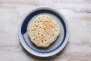 plain crumpet
