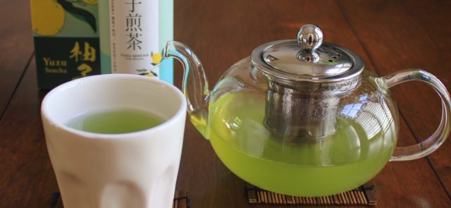 yuzu sencha on the winter solstice