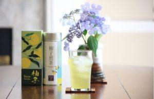 cold brewed yuzu sencha