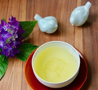 sencha with birds