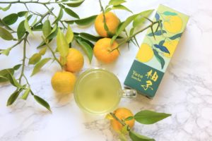 yuzu sencha with yuzu