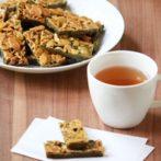 matcha florentine biscuits