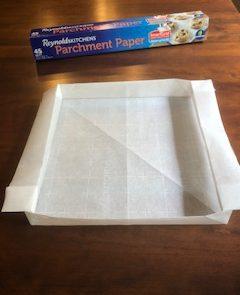 Parchment Paper Pan