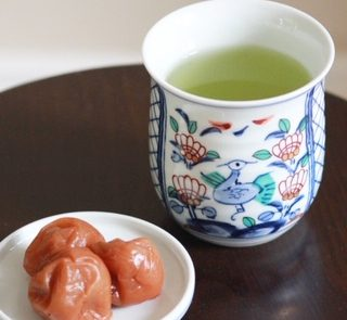 Umeboshi Sencha is refreshing