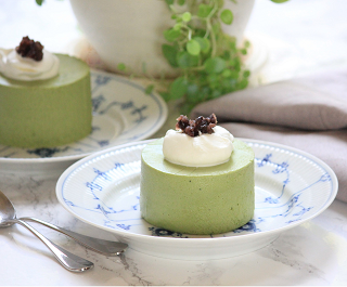 the best matcha mousse